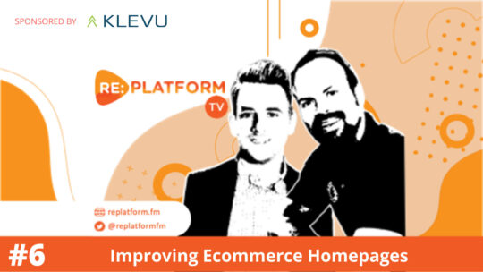 Ecommerce Video masterclass: Improvinh Homepage Design and Content