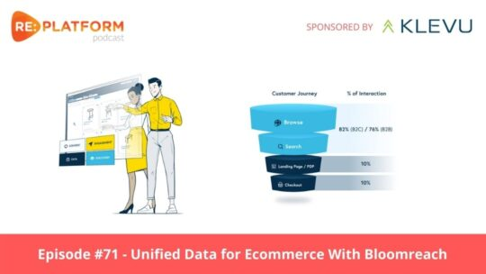 Ecommerce podcast discussing DXPs and The Benefits of Unified Data for Ecommerce